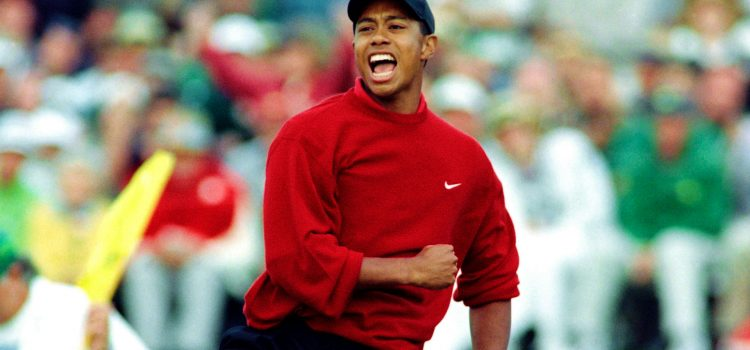 Tiger Woods' history and wins at the Masters