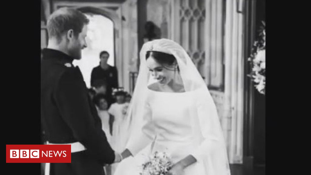 Harry and Meghan Posted A Compilation Of Photos From Their Wedding To Mark Their First Anniversary