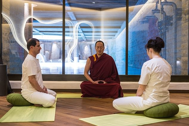 Healing: Guests at The Alpina can have meditation consultations with Tibetan therapists
