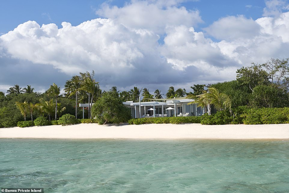 Banwa Private Island has a very hefty price tag, but it does secure guests the entire island