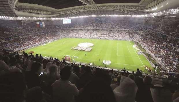 Qatar Inaugurated Its Second FIFA World Cup Qatar 2022 Stadium