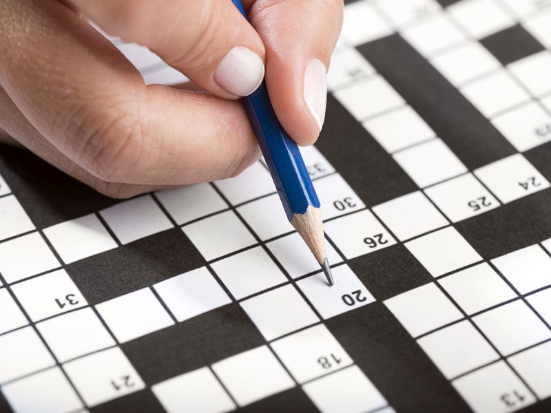 News Picture: Sudoku, Crosswords Could Make Your Brain Years Younger