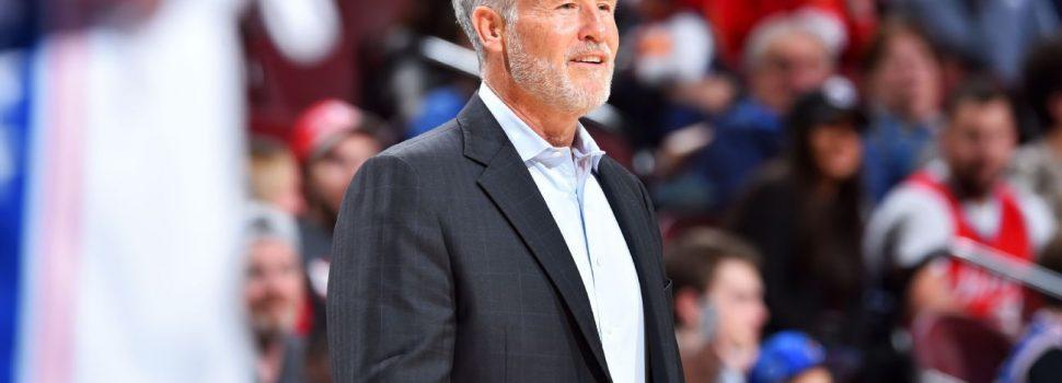 Philadelphia 76ers Coach Brown to Return Next Season