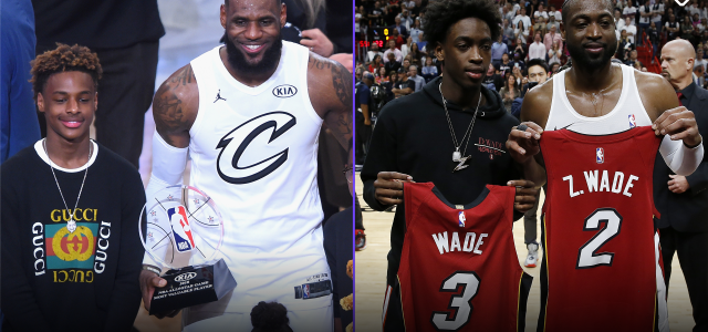 Sons of LeBron James, Dwyane Wade To Play Together in High School