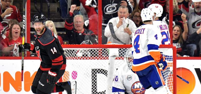 Hurricanes captain Justin Williams scores yet another big goal