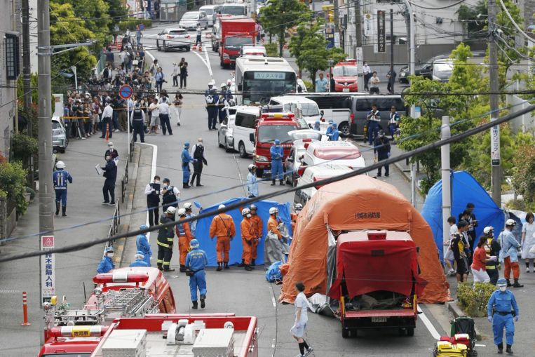 16 People Stabbed Including 13 School Children in Japan