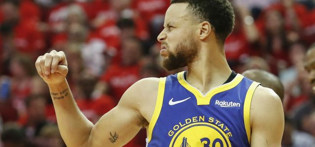 Golden State Warriors Close Out Rockets in Houston