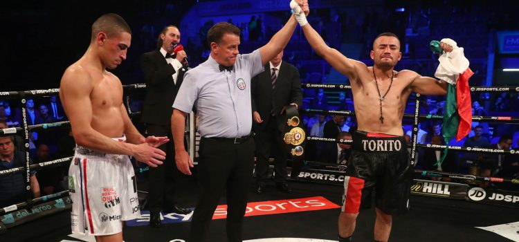 Enrique Tinoco Claims The WBA International Featherweight, Stops Jordan Gill with TKO