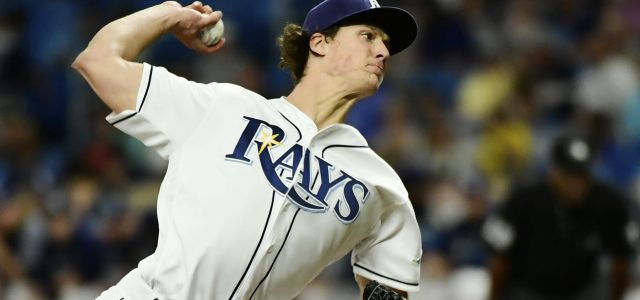 Tyler Glasnow Leaves Game Now Dealing With an Arm Injury