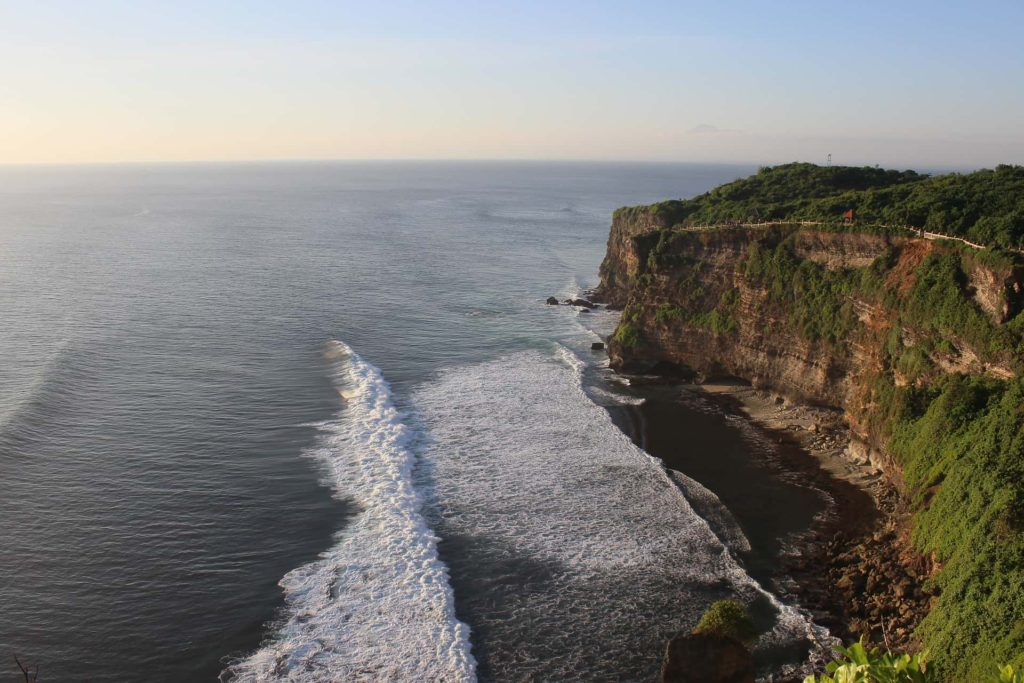 Uluwatu Waves Cliffs Bali