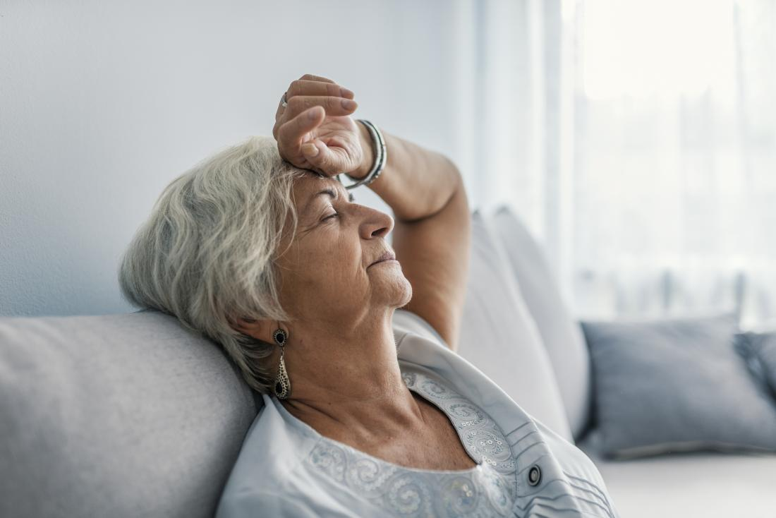 Woman with systemic lupus erythematosus experiencing fever and fatigue