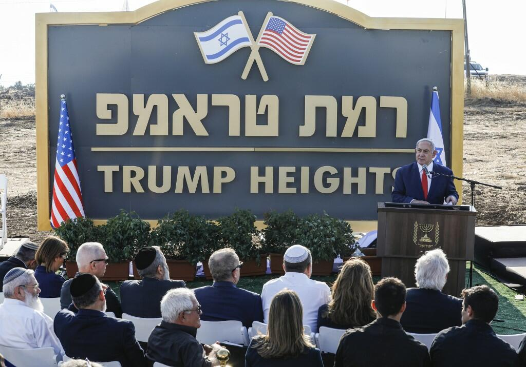 Israeli Prime Minister Netanyahu Inaugurated a New Settlement in the Occupied Golan Heights