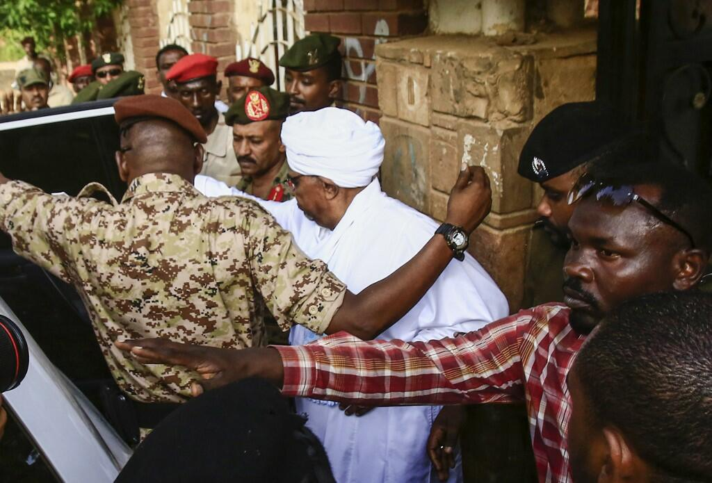 Fallen Sudanese Leader Omar Al-Bashir Was Seen in Public for the First Time Since Being Ousted