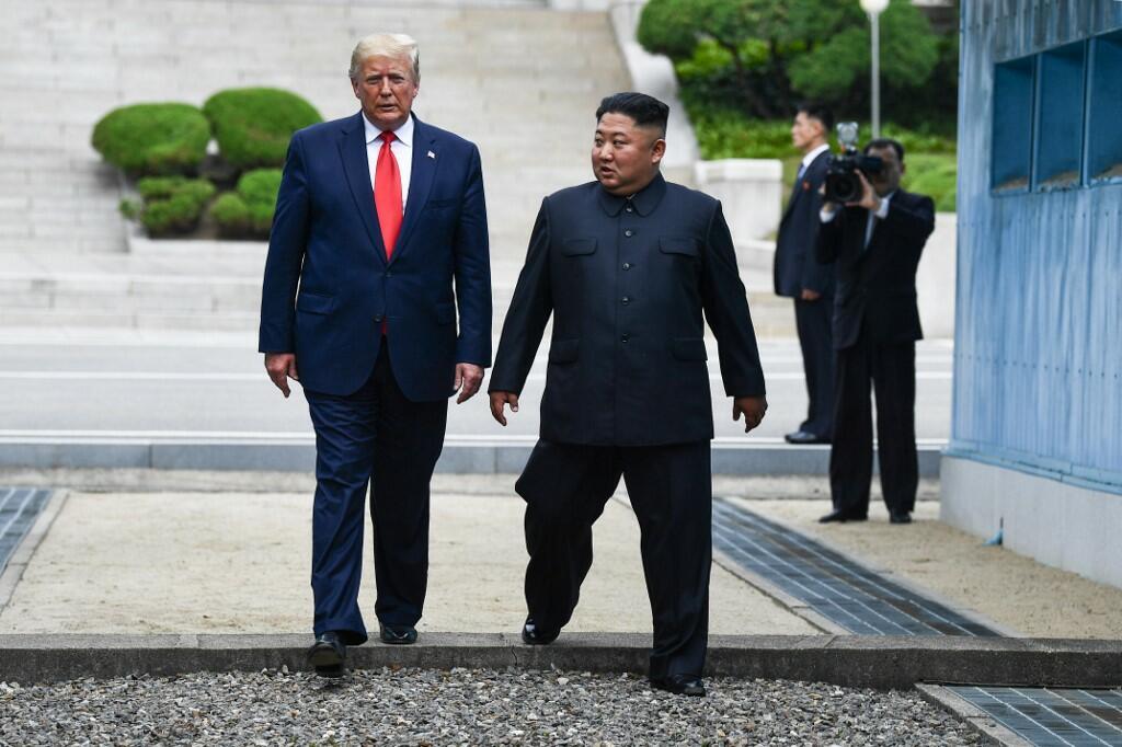 U.S. Trump the First Sitting President to Meet North Korean Leader Kim Jong-un at the Demilitarized Zone (DMZ)
