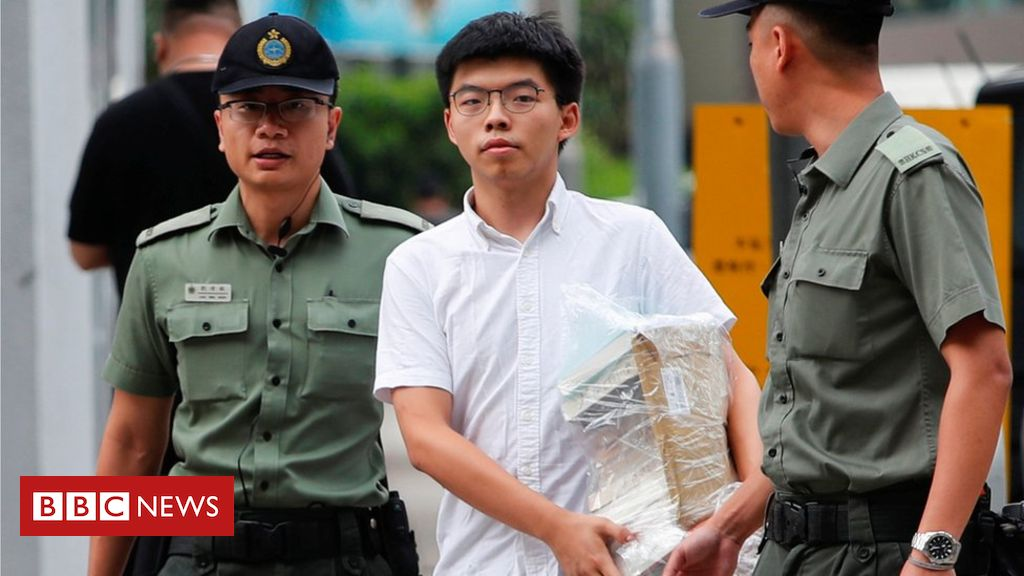 Hong Kong Student Activist Joshua Wong Calls for HK Leader Carrie Lam Resignation