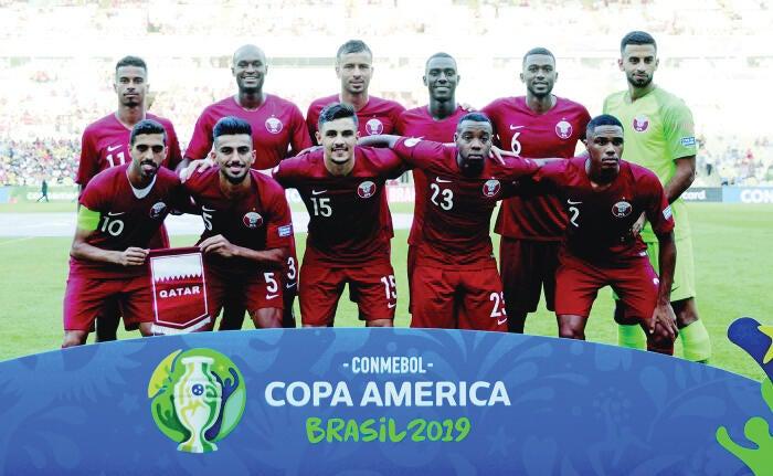 Qatar Coach Sanchez Hails Qatar's Resolve in Copa America Opener