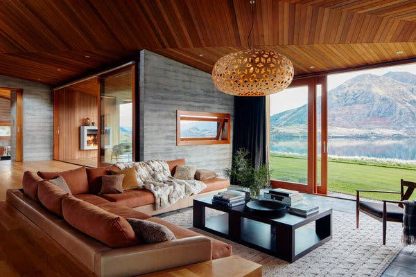 The interior of a home available in New Zealand.