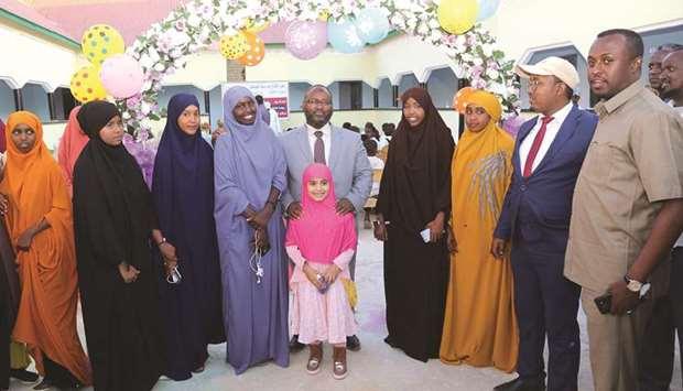 School in Somalia Built by Qatar Charity Opens