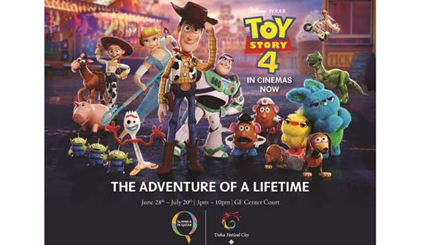 Doha Festival City Welcomes Toy Story