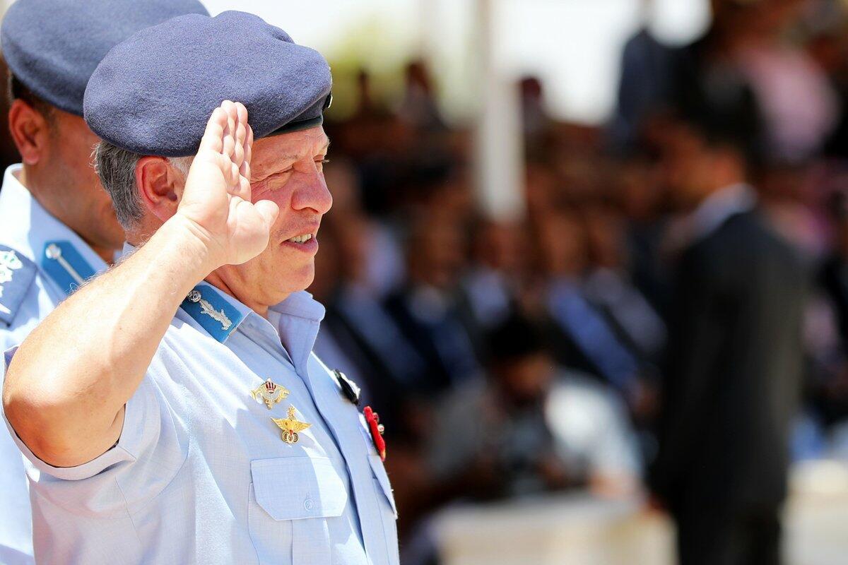 Jordan's King Abdullah II Backs the Stance of Palestinian President Mahmoud Abbas