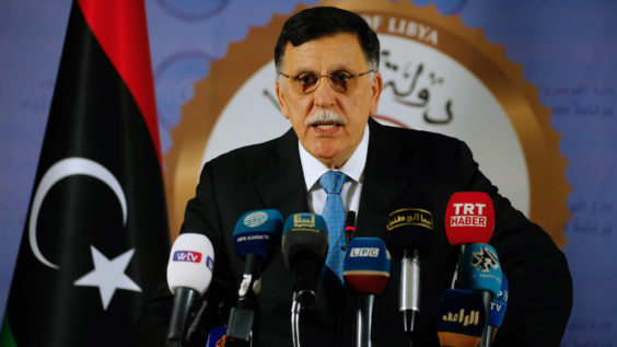 Libyan Prime Minister Fayez al-Serraj Proposes Holding National Elections to End the War in the North African Country