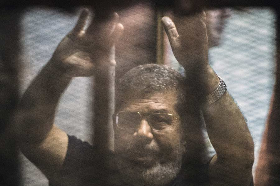 Egyptian Authorities Accused of Suppressing Press Coverage of Former President Mohamed Morsi's Courtroom Death