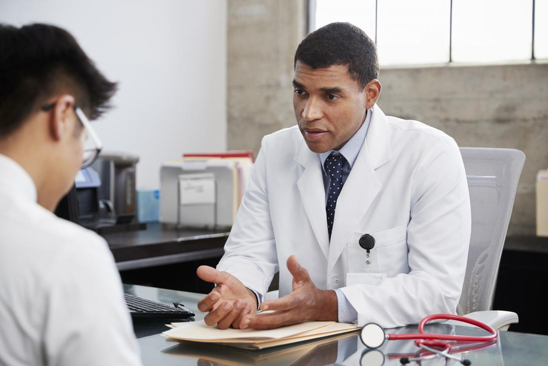 A doctor may monitor a person's response to different treatments to find the most effective options.