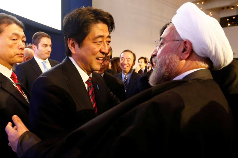 Japan's Prime Minister Shinzo Abe Heads to Iran This Week on a Rare Diplomatic Mission