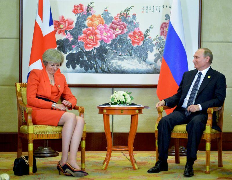 PM Theresa May Planning Showdown Talks with Vladimir Putin at G20 Summit to Ease Tensions with Russia