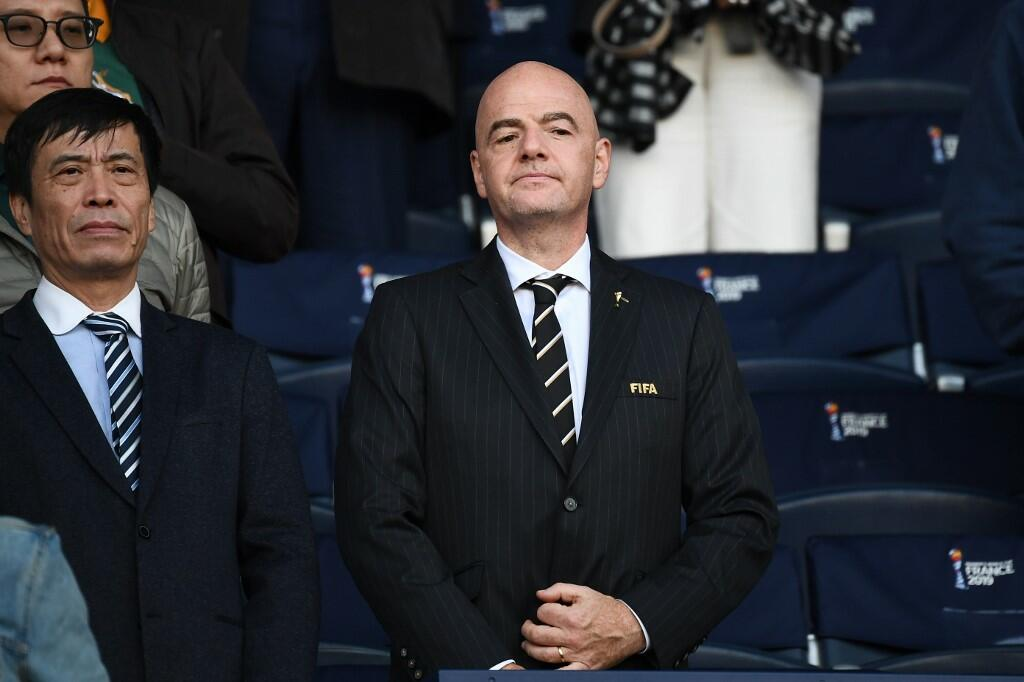 The Head of FIFA Vows to Build More Football Pitches in the Palestinian Territories