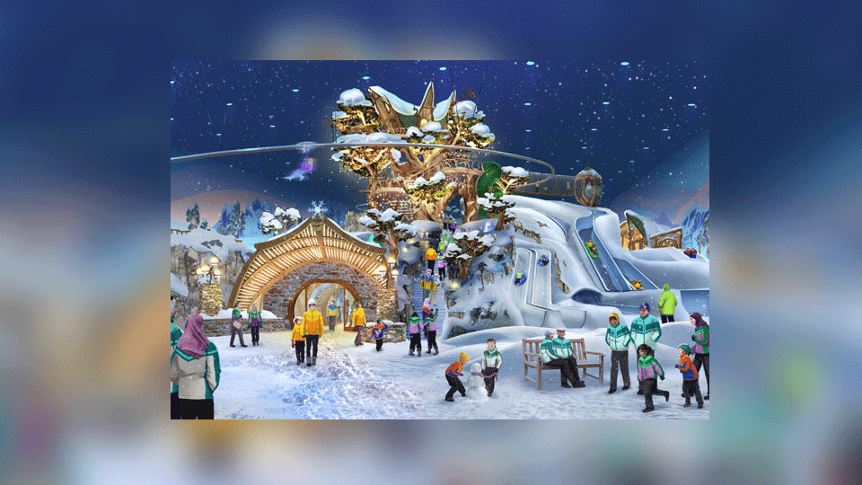 Worlds Largest Snow Park Set To Open in Abu Dhabi
