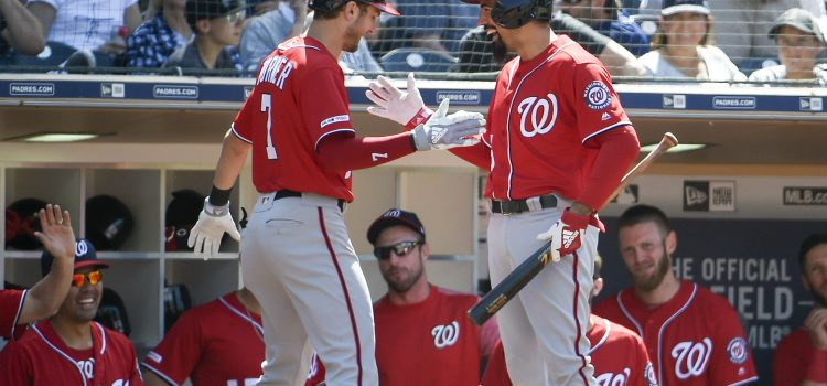 Nationals Hit 4 Consecutive Home Runs