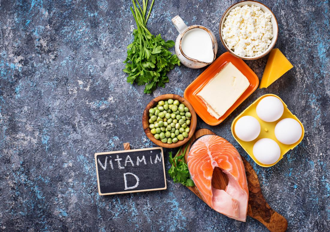vitamin D-rich foods