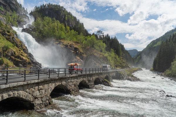 The Beauty of  Norwegian Valley