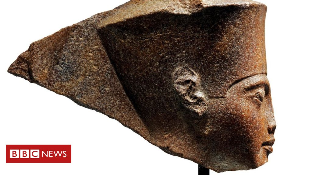 Egypt Calls on Auction House Christies to Cancel the Sale of a 3,000-year-old Bust of Ancient Boy-King Tutankhamun