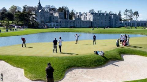 Adare Manor resort in Limerick is owned by businessman JP McManus