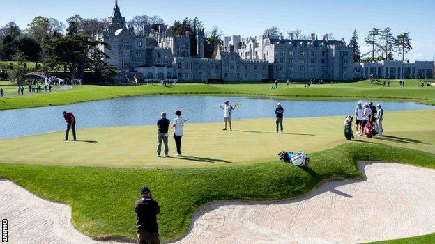 Adare Manor in Ireland is Set to be Confirmed as the Host Course for the 2026 Ryder Cup