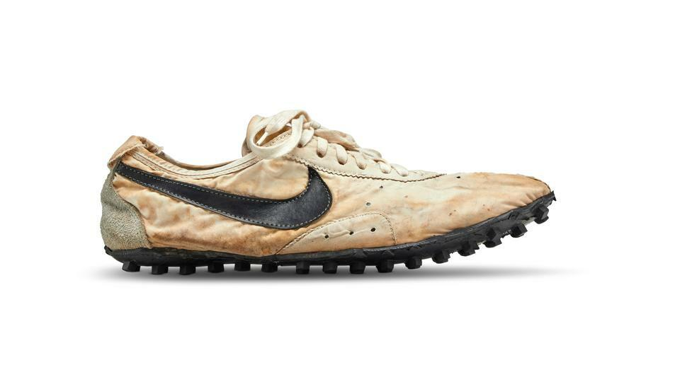 Nike Shoes Sold at $437,500, Breaking the World Record Auction Price for a Pair of Sneakers