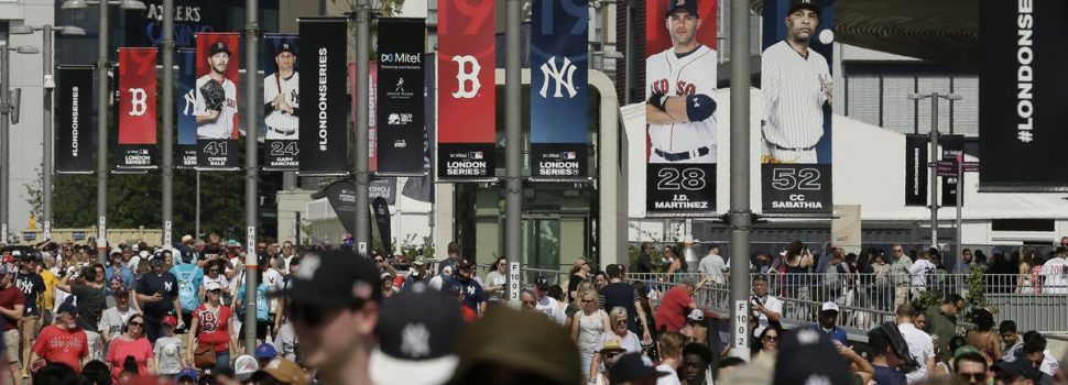 Baseball Faces Crowded Sports Market in Britain, Europe