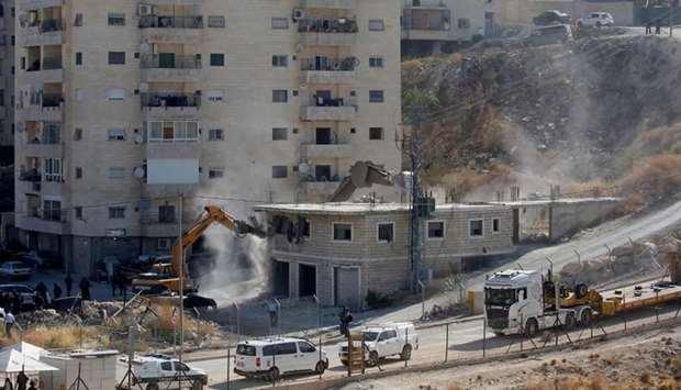 Israeli Soldiers Began Demolishing Palestinian Homes in East Jerusalem