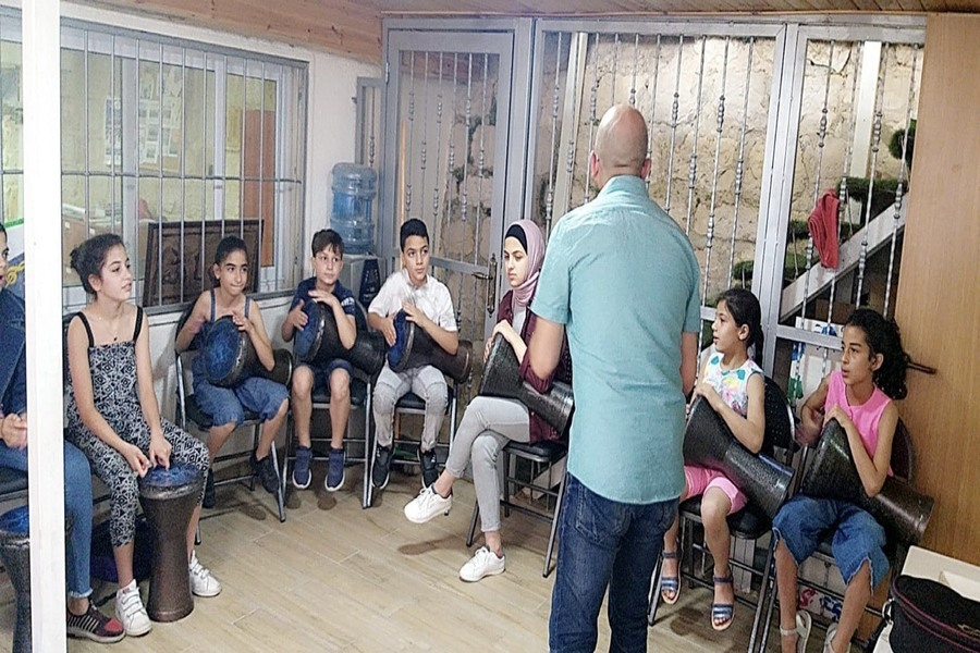 Summer Program Begins at Arts School of Silwan