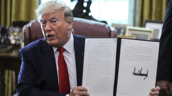 US President Donald Trump Says Chances of Renegotiating The 2015 Nuclear Deal With Iran Are Dwindling