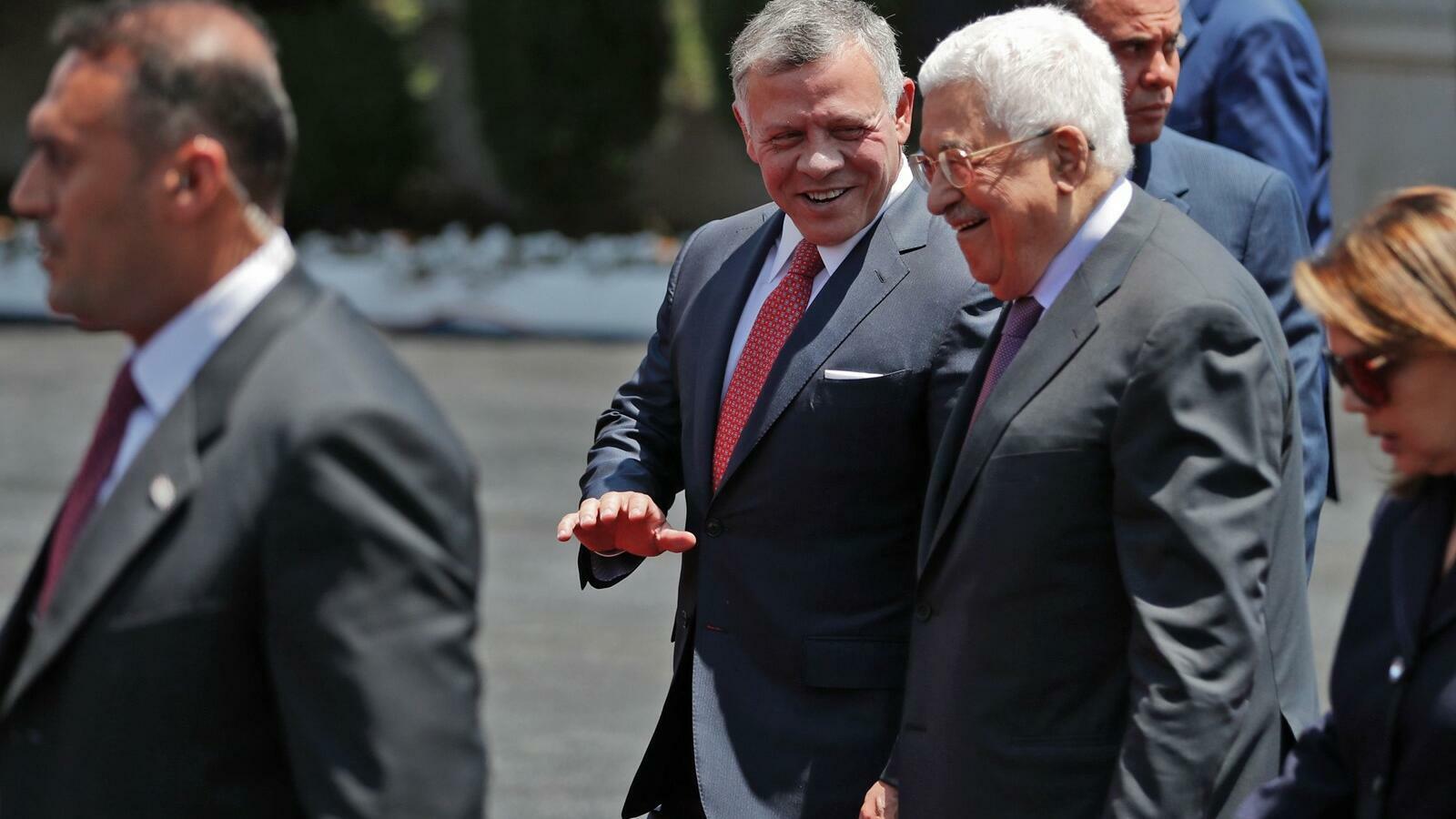 Jordan King Abdullah, Palestinian President Reaffirm Solidarity Against Occupation