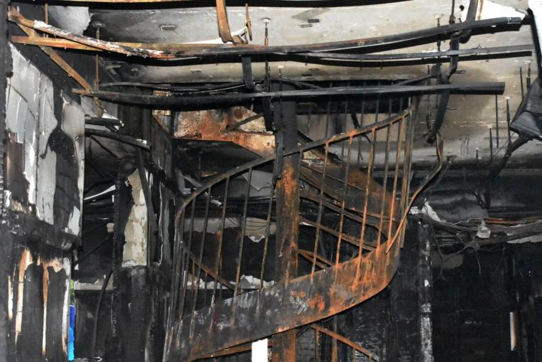 Japanese Police Raided the Home of the Main Suspect in a Deadly Arson Attack