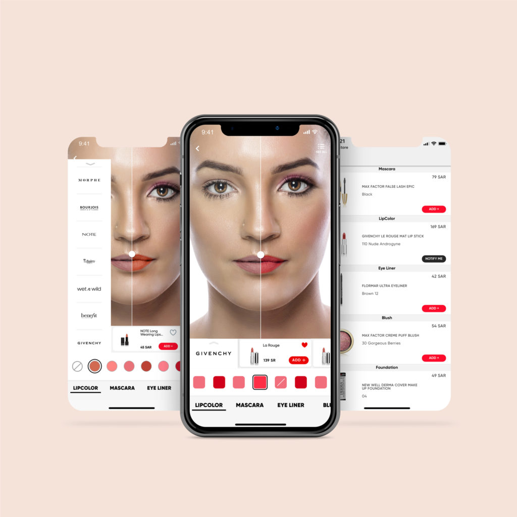 Saudi Arabian App, Golden Scent, Enables You to Virtually Test Makeup Products