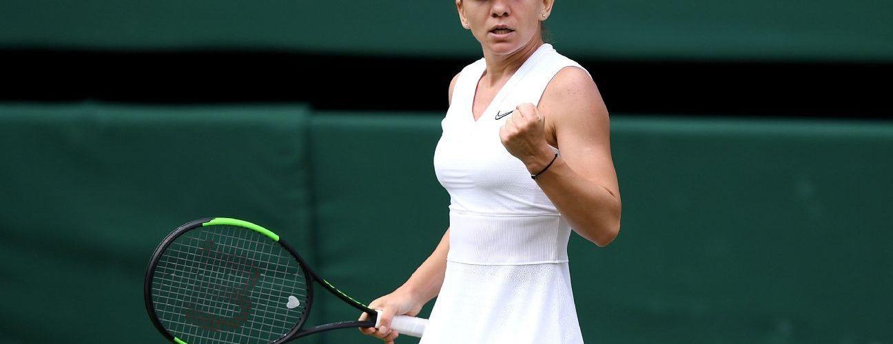 Simona Halep Reaches her First Wimbledon Final