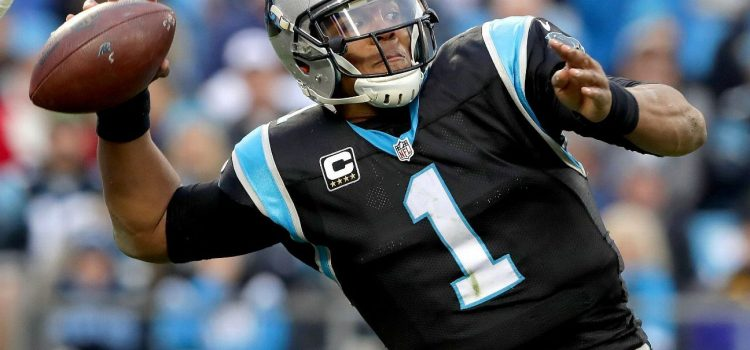 Cam Newton Admittedly Couldn't Throw More Than 30 Yards Due to a Sore Right Shoulder