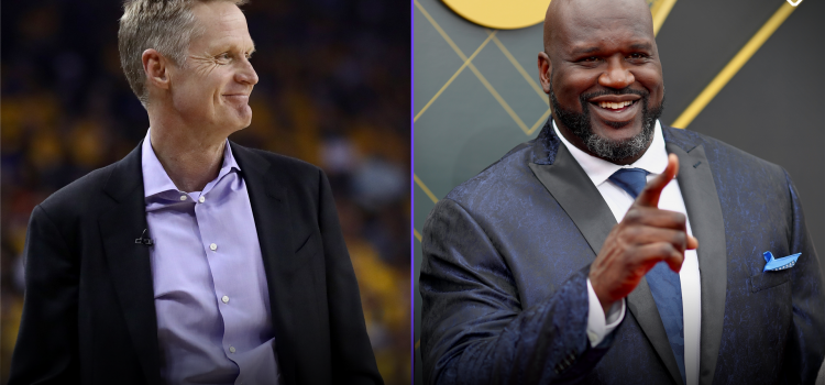 Steve Kerr Calls on Shaquille O'Neal to Keep Promise He Made 15 Years Ago