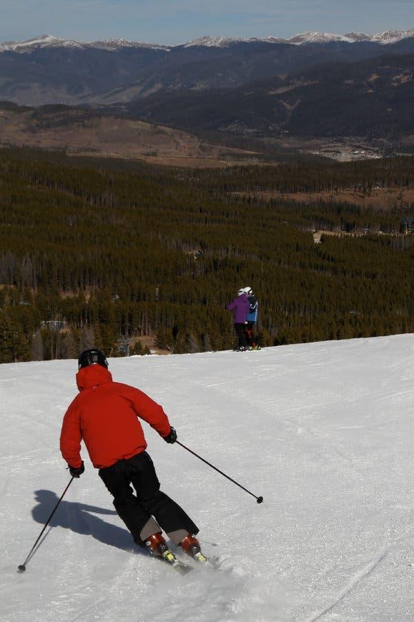 Many ski resorts, like Breckenridge in Colorado, have the need for seasonal employees.