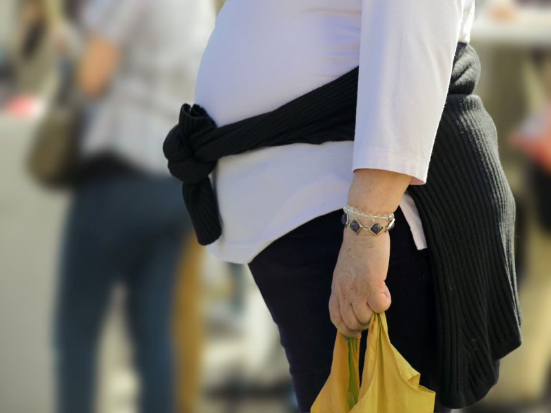 A Widening Waistline Can Harm the Health of Older Women, Even if they Avoid Obesity